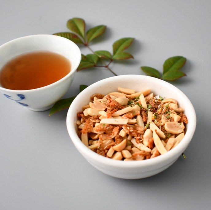 堅果櫻花蝦-椒麻口味(80g)