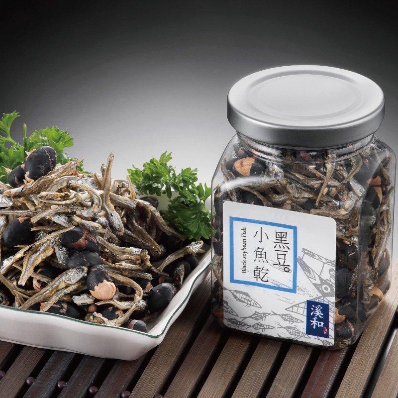 黑豆小魚乾 (100公克/罐)