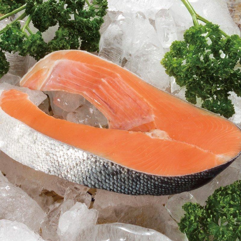 智利鮭魚-300公克輪切