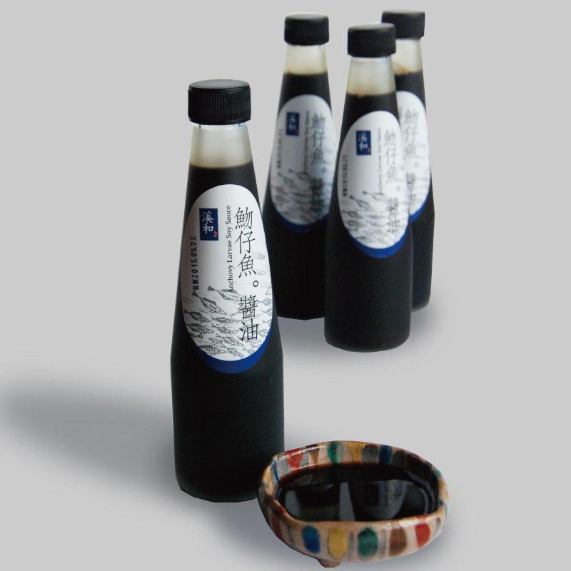 魩仔魚手工醬油 (230毫升/瓶)