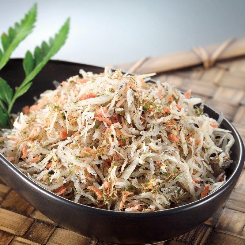 鮭魚小魚拌飯 (150公克/罐)
